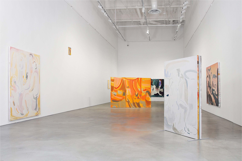 Amy MacKay, Dear Echo, installation entry view, 2018