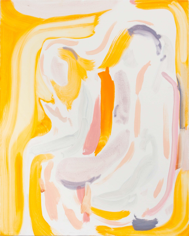 Amy MacKay, new limbs, 2018, oil on canvas, 30 x 18