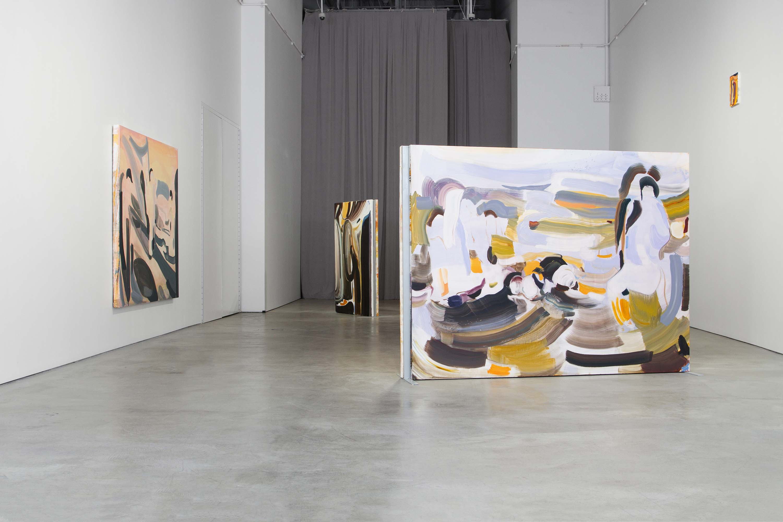 Amy MacKay, Dear Echo, installation rear view, 2018