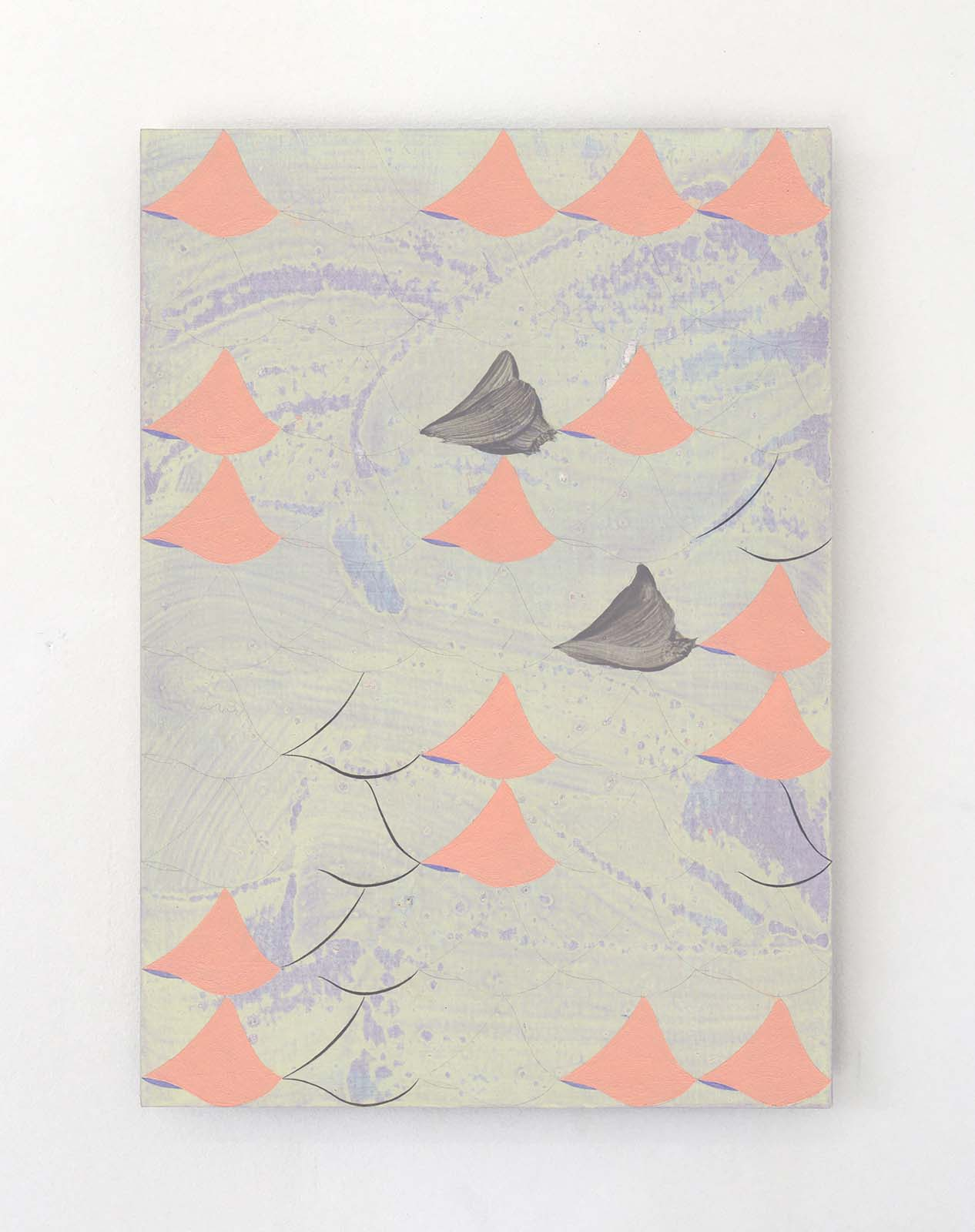 Jinyong Park, laim, acrylic on paper, 29.7 x 21 cm, 2019