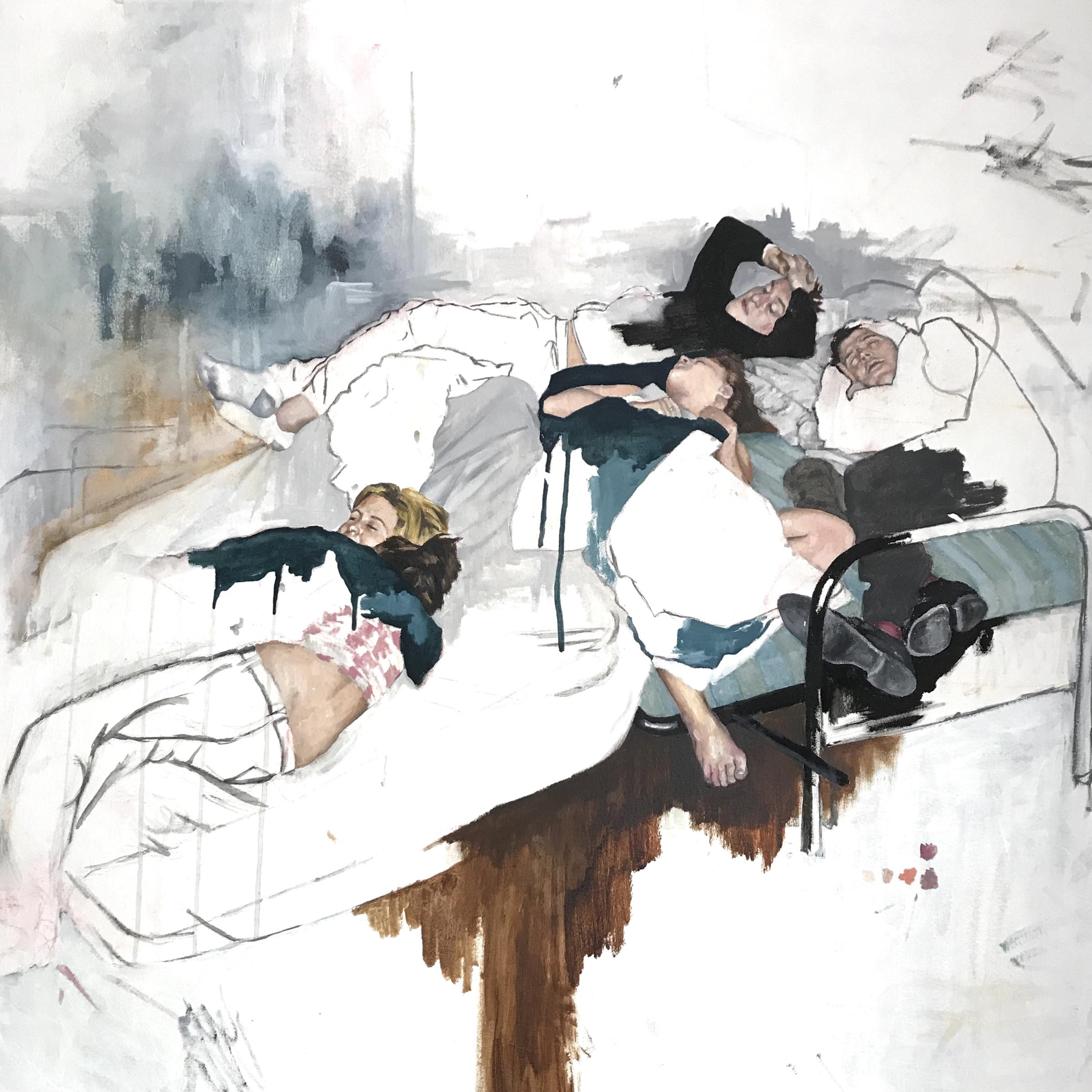 Kirsten Valentinen, oil on canvas