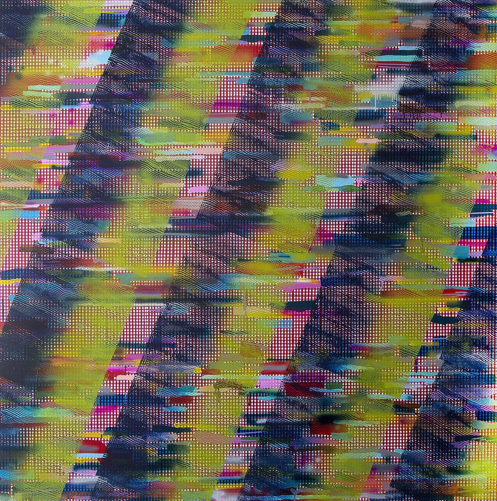 Rebecca Kaufman, acrylic on canvas