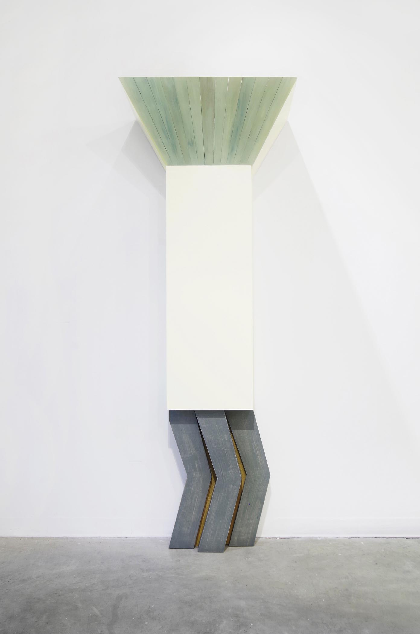 Sarah Tortora, plywood, epoxy clay, resin, minerals, paper pulp.