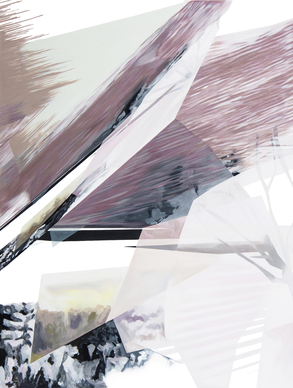 Anna Caruso, Non visitare il passato che cerchi, 2018, acrylic on canvas, 80x60 cm