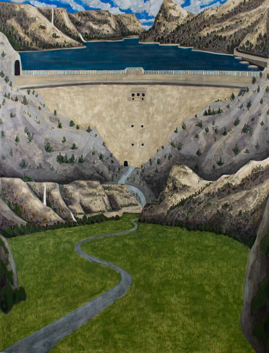 Dave Walsh, Hetch Hetchy, Oil on Canvas, 66