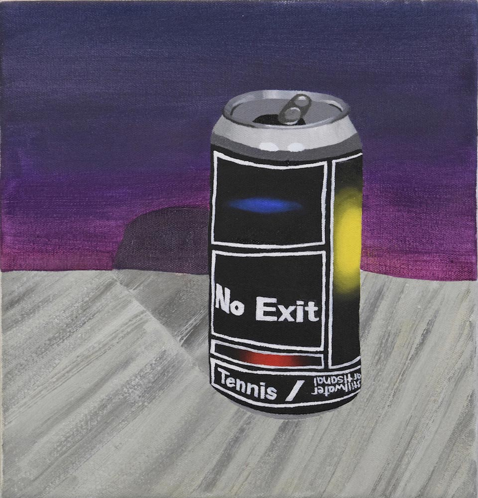 Davis Arney, Untitled (No Exit), 2018, Oil on canvas, 13