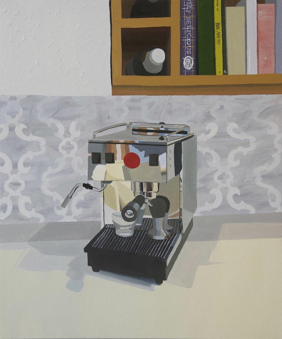 Davis Arney, Pasquini Livietta, 2018, Oil on canvas, 31