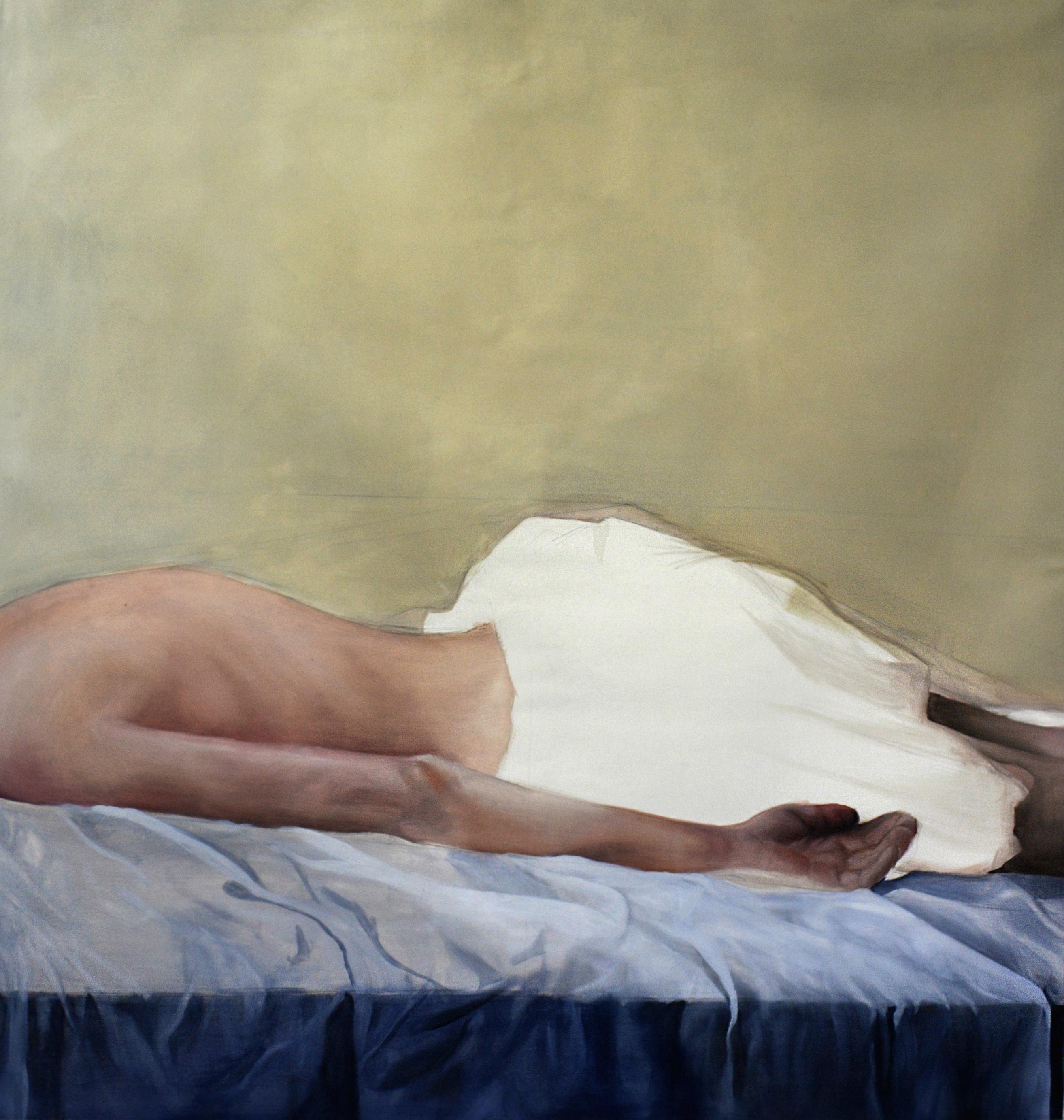 Dimitris Vavouras, Untitled, 2016, oil on canvas, 150x160 cm