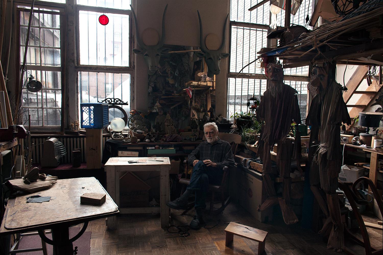 "Frankie Alduino, Ralph Lee, Puppeteer, 2017, Inkjet print on paper, 18""x12"""