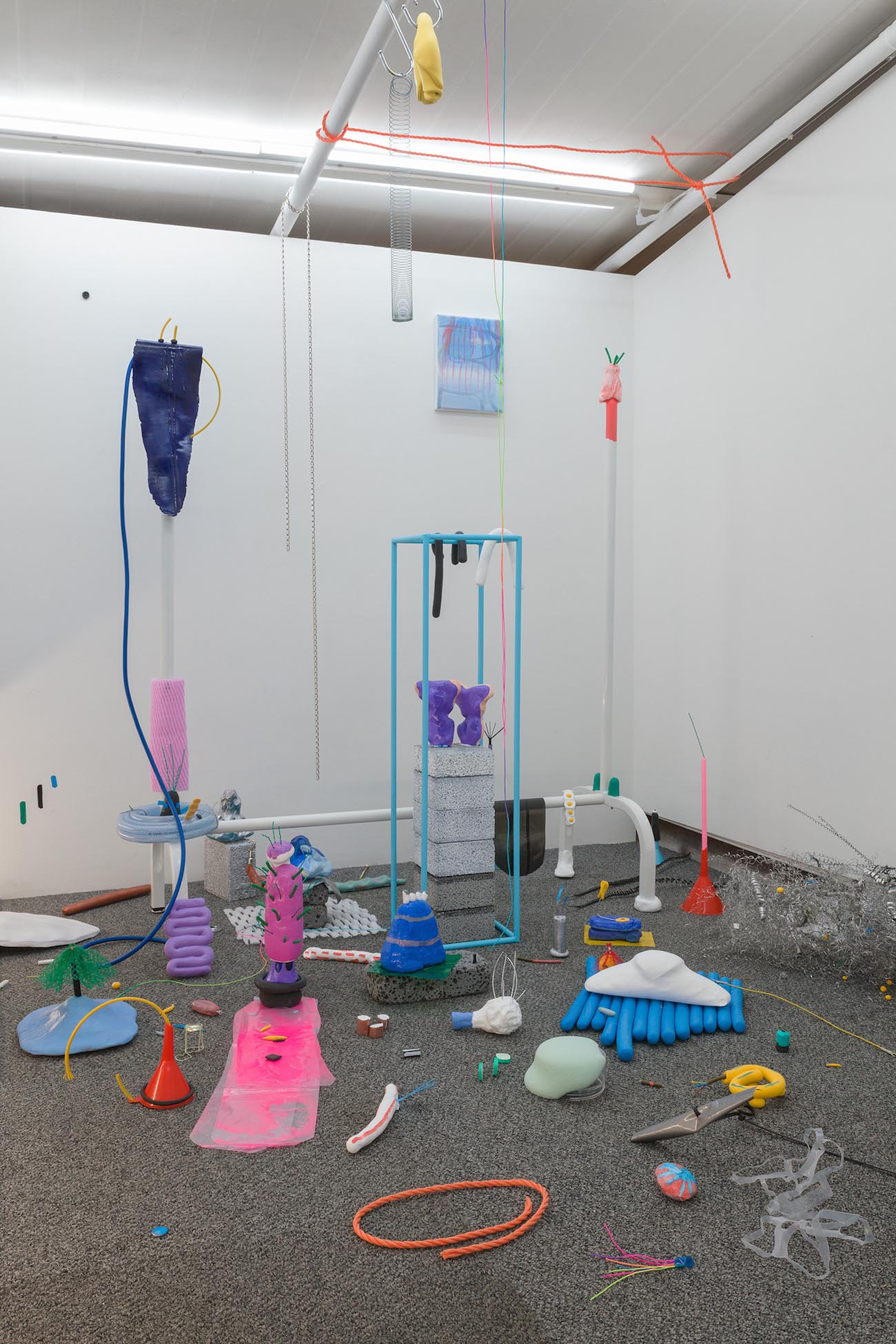 Jae Jo, Room33,2018,mixed media installation,dimensions variable