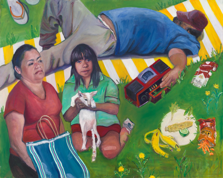 Siesta by Jessica Alazraki, 2016, Oil on Canvas, 48x60 inches, for sale
