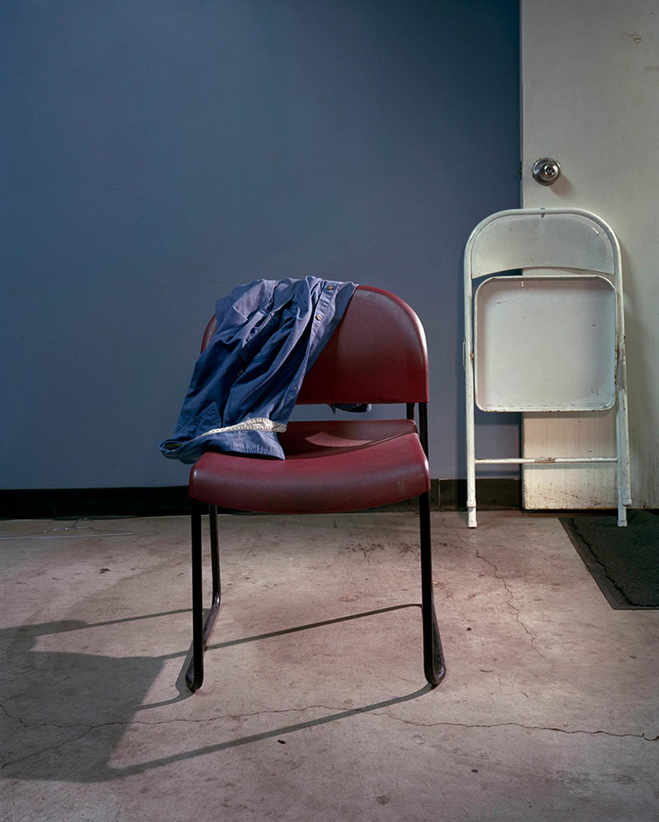 "Juan Giraldo, Chair, Chicago IL 2013, Archival Pigment Print, 24""x 30"""