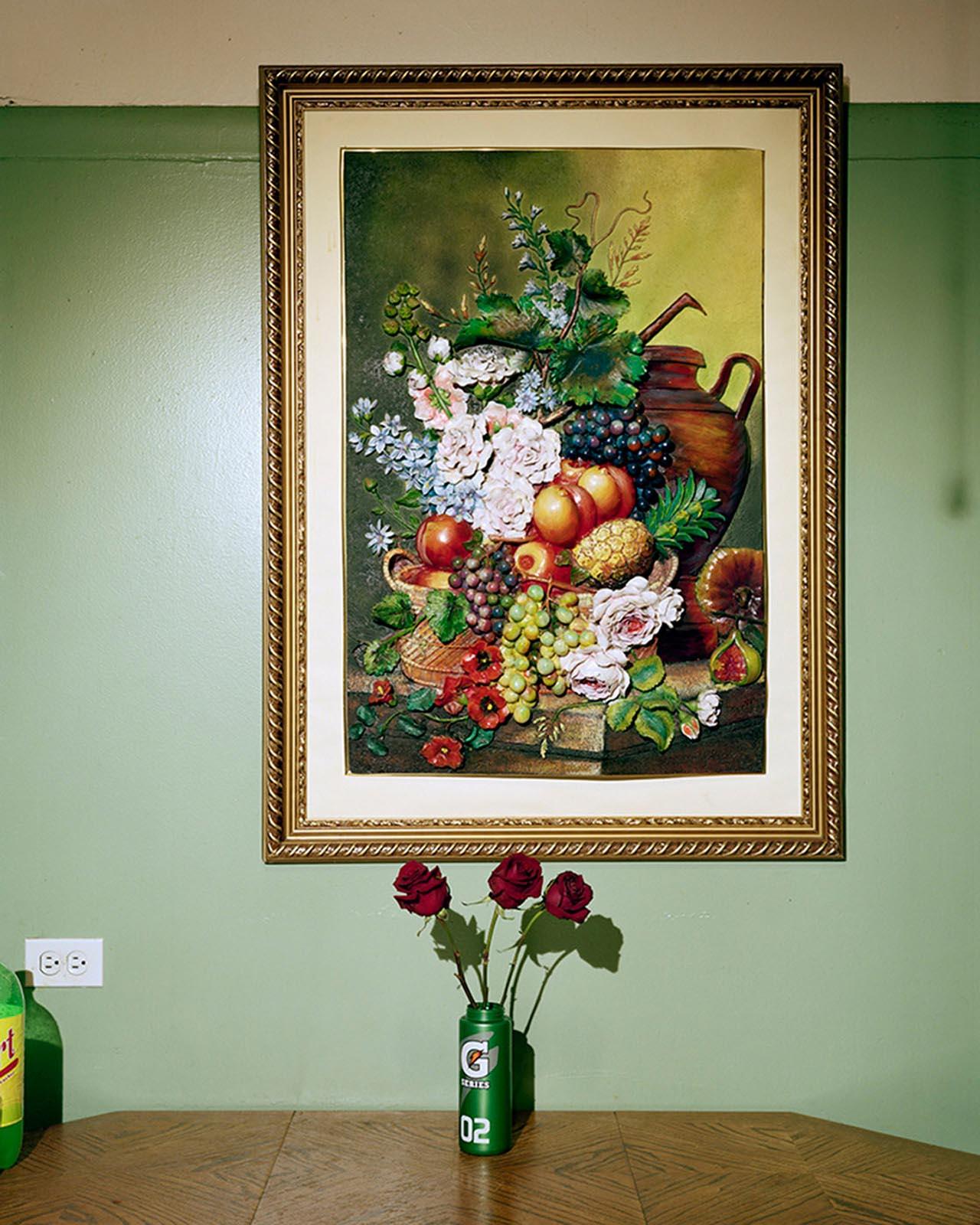 "Juan Giraldo, Roses, Chicago, IL 2013, Archival Pigment Print, 24""x 30"""