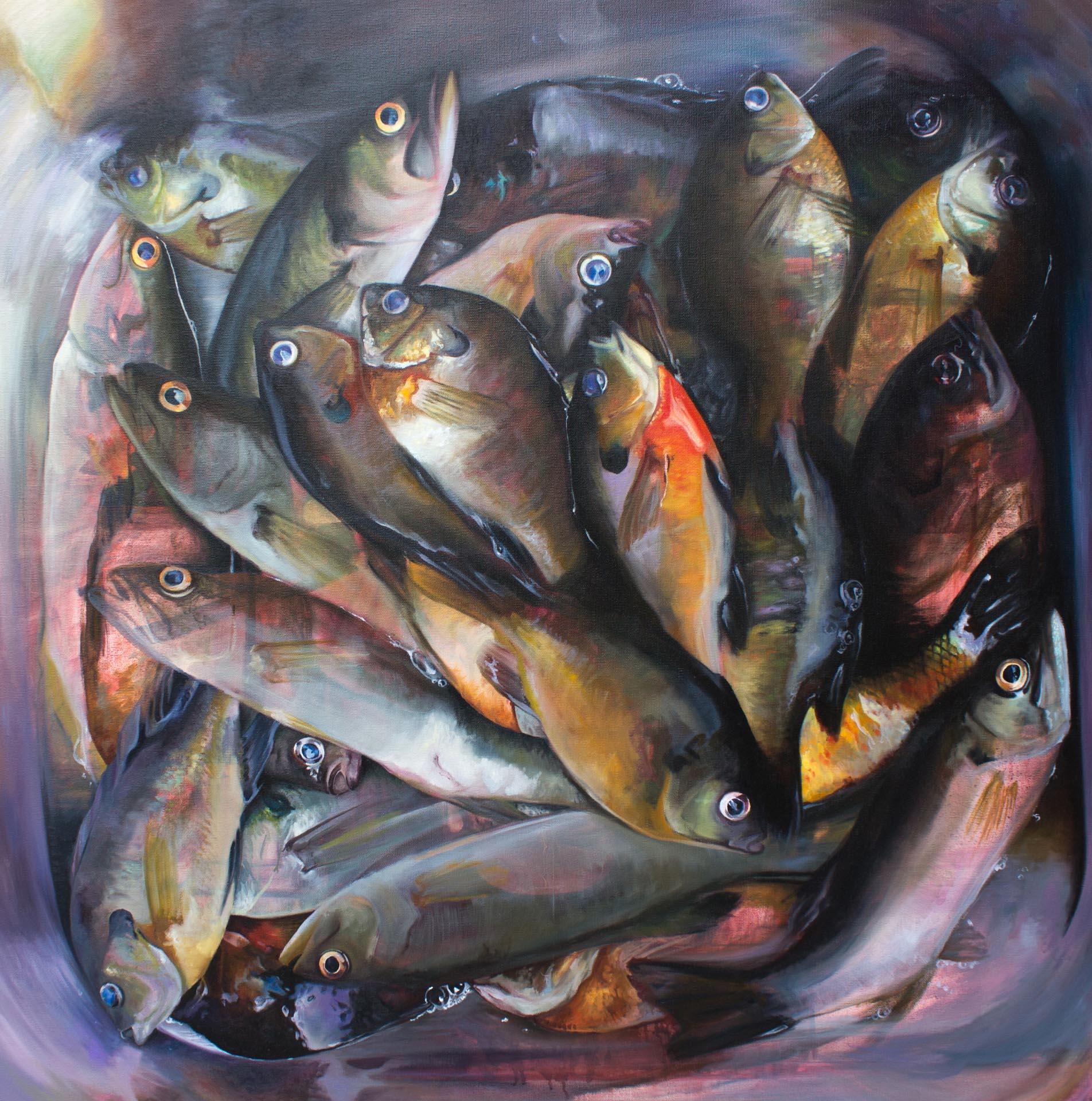 A Good Plenty, 2016, Oil on Canvas, 36