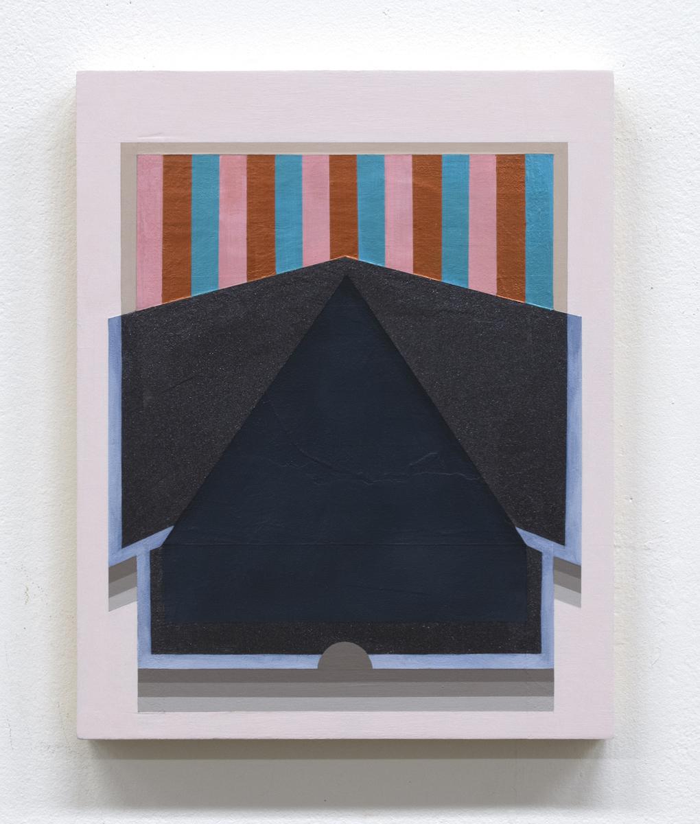 Mary Laube, Hanbok, acrylic on panel, 12