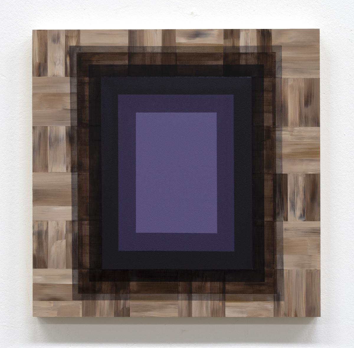 Mary Laube, My Lunar Plexus, acrylic on panel, 12