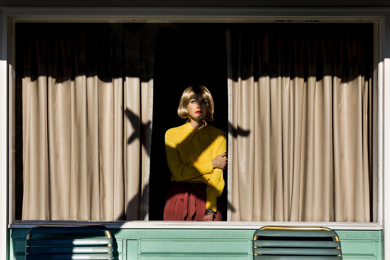Lana in the Window, 2016, Archival Pigment Inkjet Print
