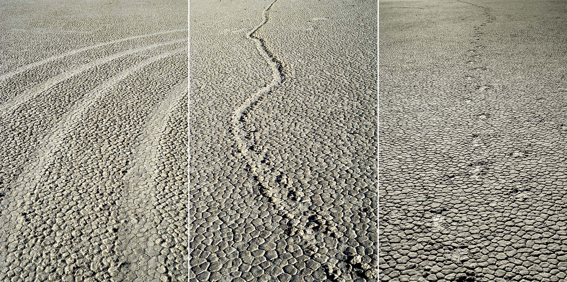 Nancy Floyd, Trinity (tire marks, moving rock trail, footprints)
