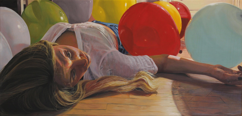 Title: Lynn Year: 2017 Medium: Oil on Canvas Dimensions: 12 x 25 inches