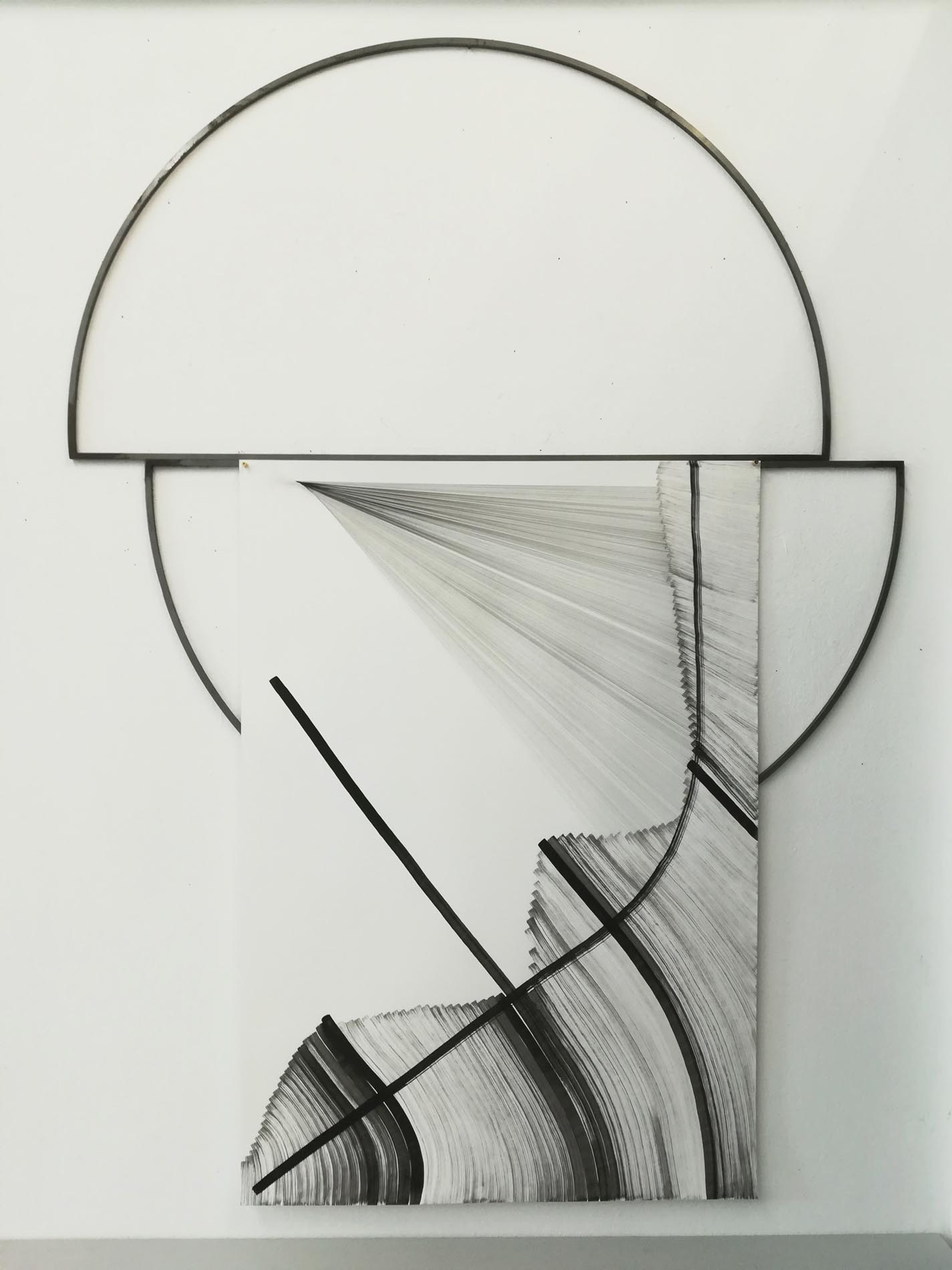 Nina Annabelle Maerkl, Typologies, 2018, ink and pencil on paper, 50 x 70 cm