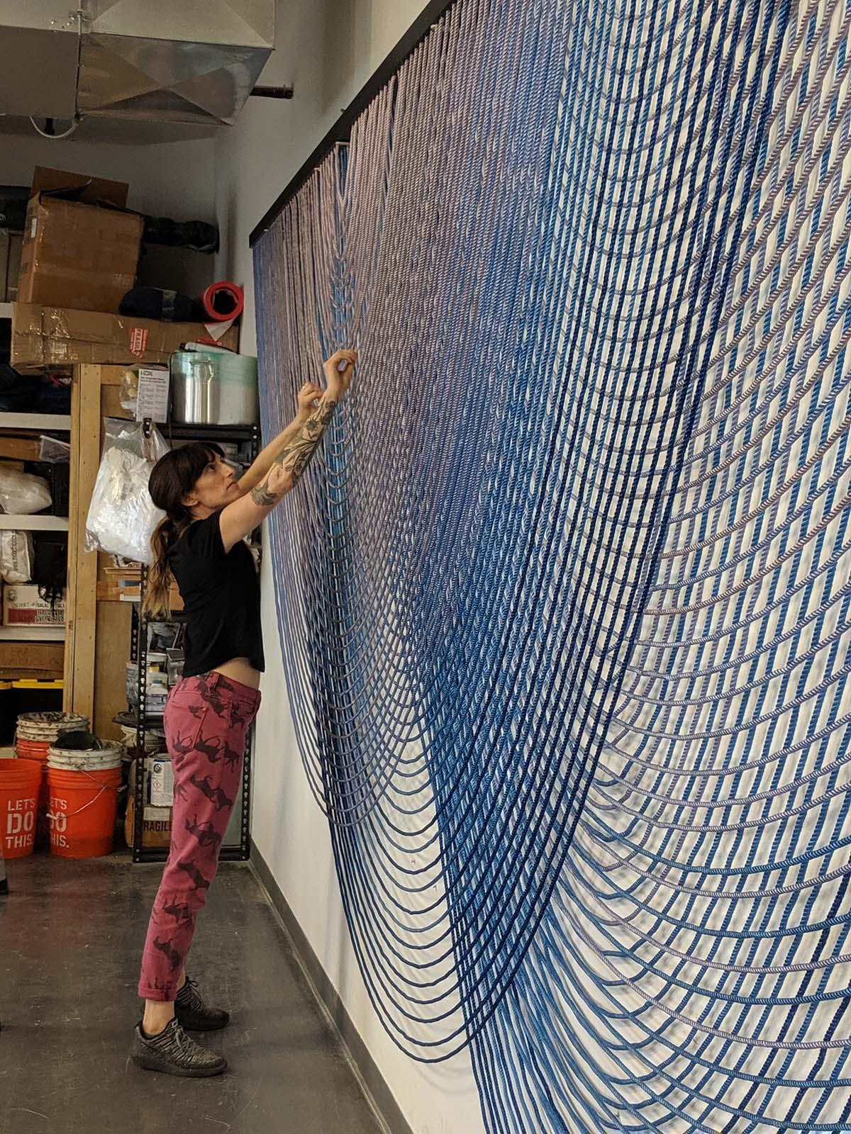 Rachel Mica Weiss Studio, 2019