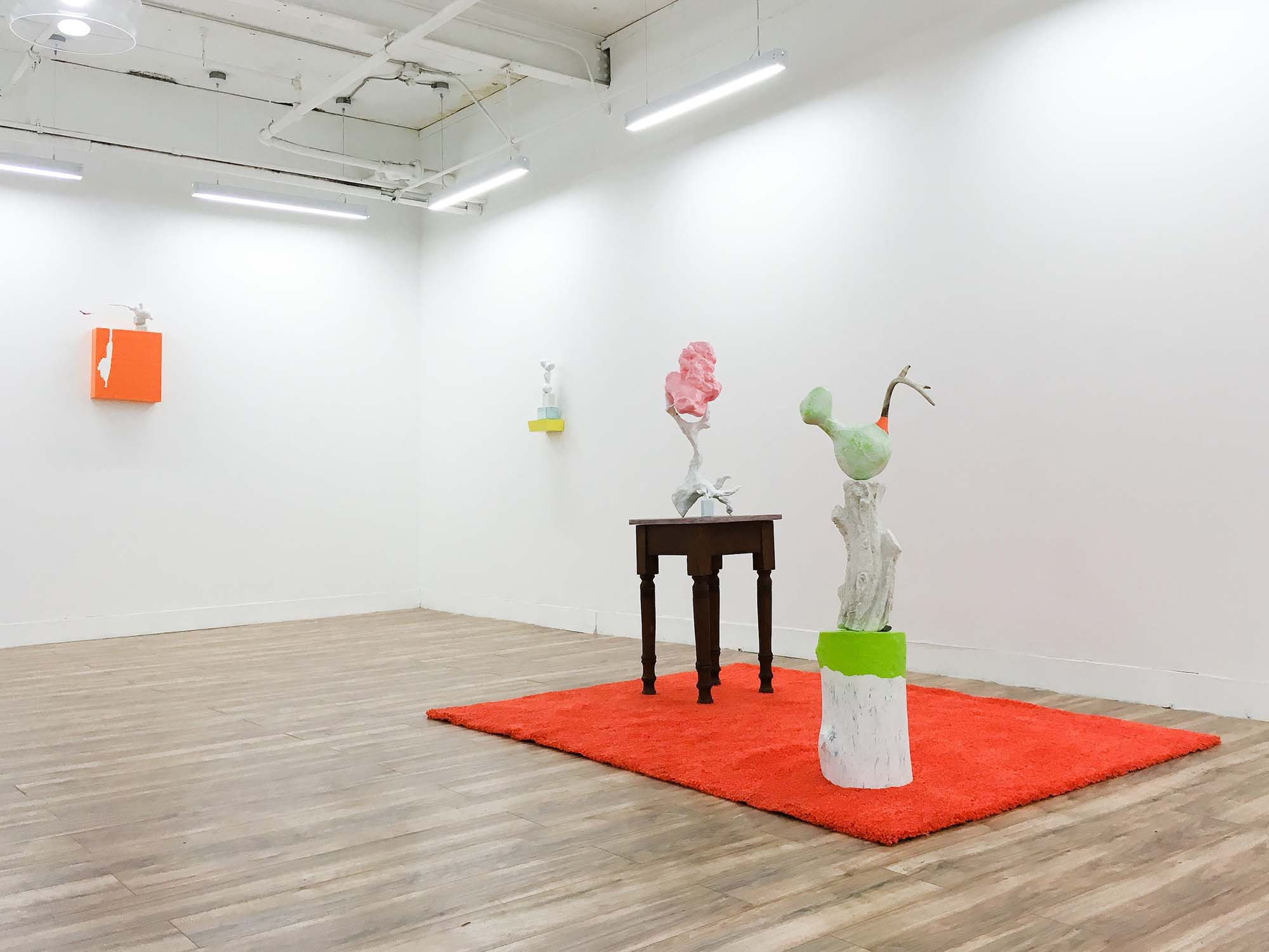 roberley bell, Then Again, installation view Kaplan Contemporary 2018