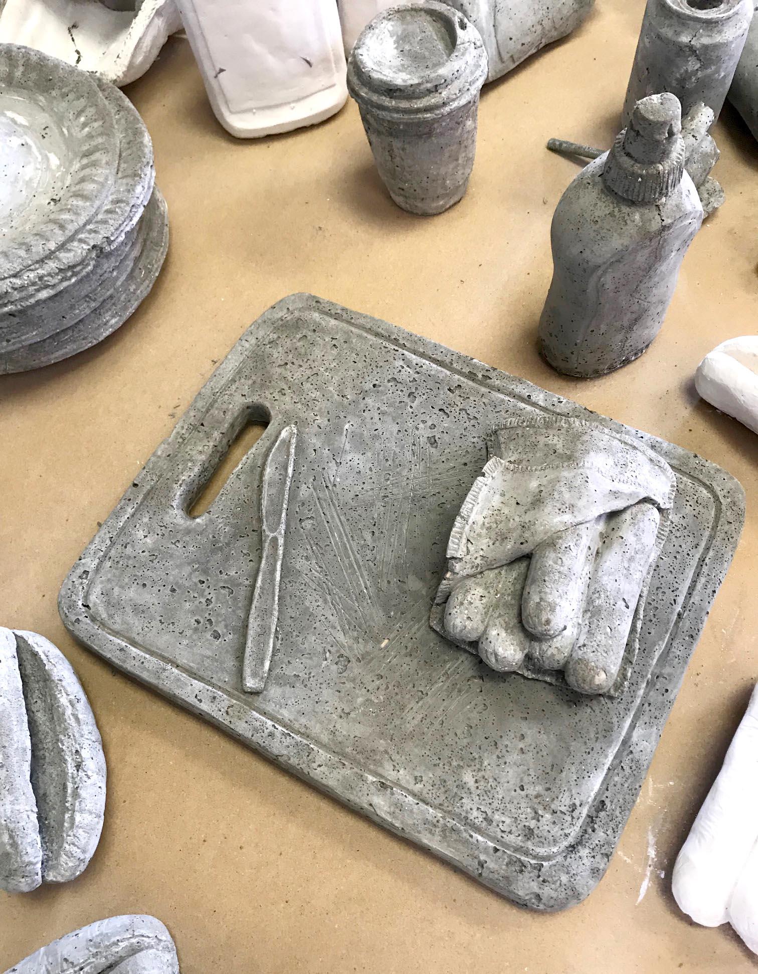 Picnic 2018 Cast concrete 4