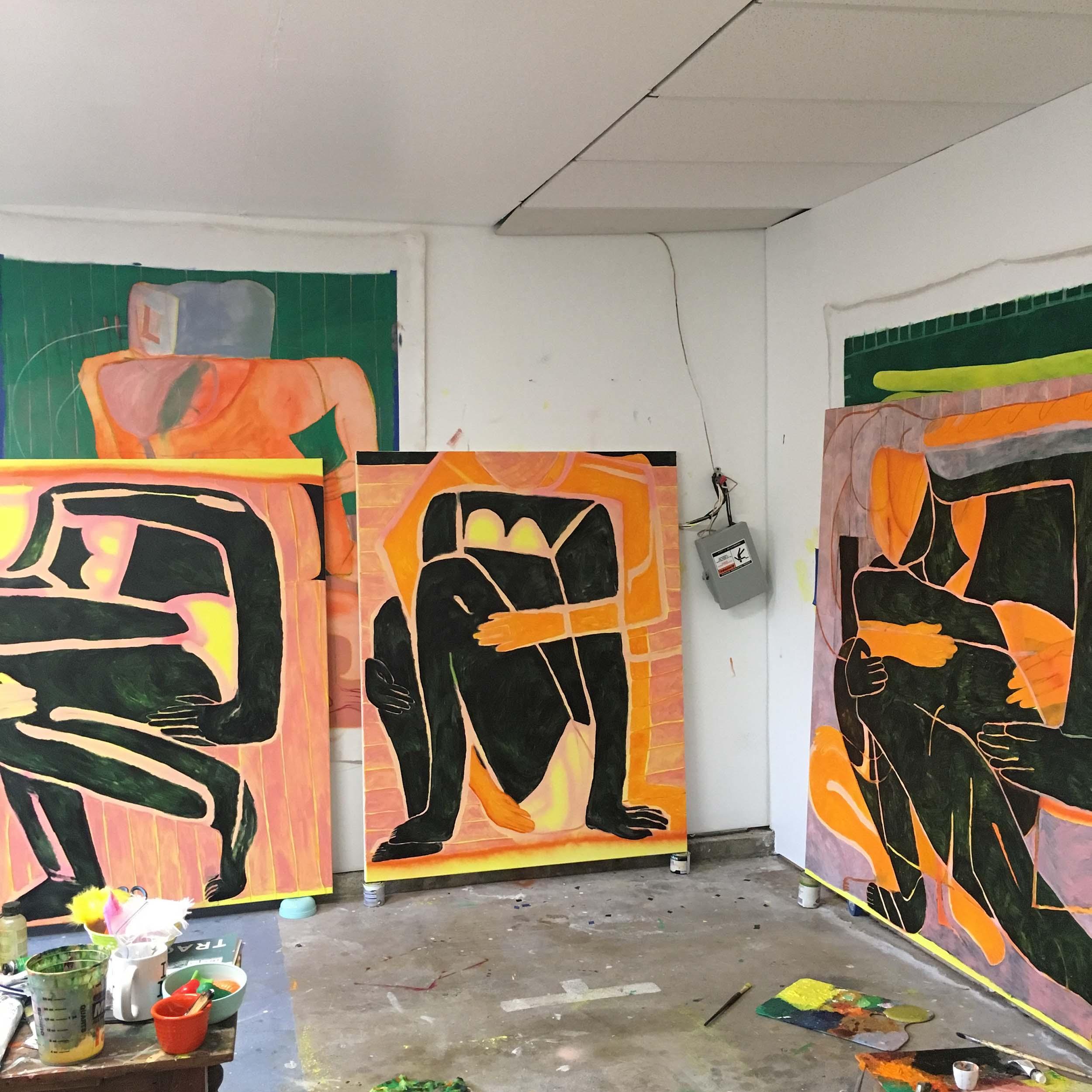 Lonsdale's studio
