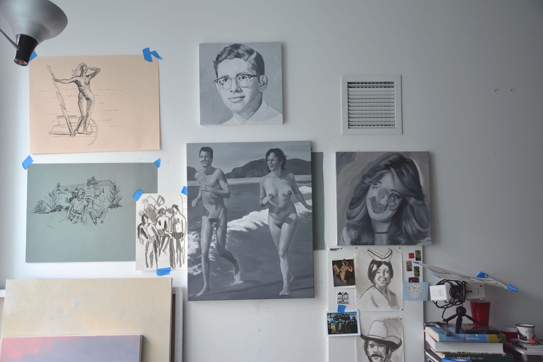Kerdman's studio, 2019